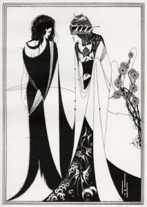 John and Salome, Salome, by Oscar Wilde by Aubrey Beardsley