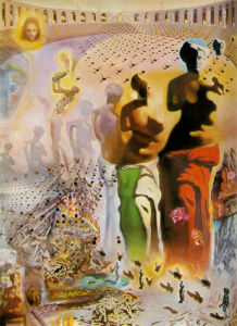 The Hallucinogenic Toreador by Salvador Dali