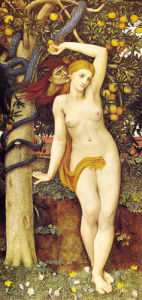 Eve tempted by John Roddam Spencer Stanhope
