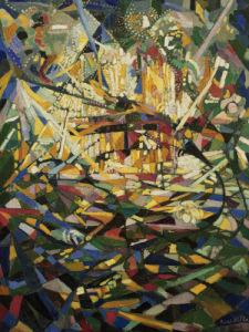 Battle of Lights, Coney Island by Joseph Stella