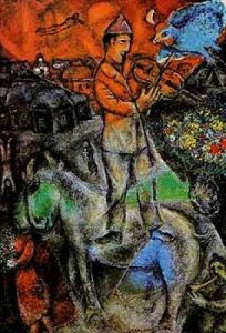 Le Violoniste (Peintures) by Marc Chagall