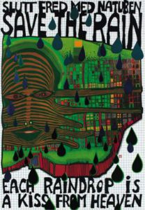 Save the Rain by Friedensreich Hundertwasser