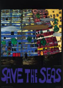 Save the Seas by Friedensreich Hundertwasser