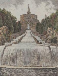 Kassel, Kaskaden und Herkules by Bruck