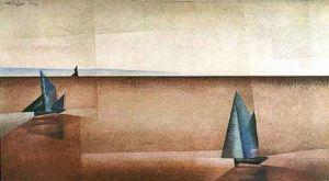 Regenklarheit by Lyonel Feininger