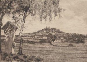 Annaberg, Gesamtansicht by Bruck