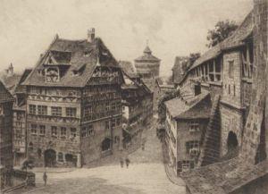 Nürnberg, Dürerhaus by Bruck