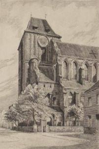 Thorn, Johanniskirche by Fischer-Lenz