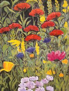 Nolde Garten IV by Eleonore Baur-Brinkman