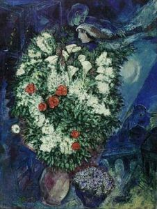 Bouquet of Flowers by Marc Chagall