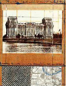 Reichstag XII by Javacheff Christo