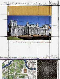 Reichstag XIII by Javacheff Christo