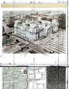 Reichstag XIX by Javacheff Christo