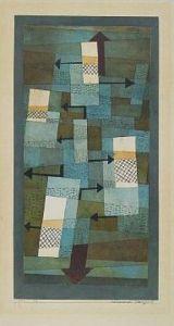 Schwankendes Gleichgewicht by Paul Klee