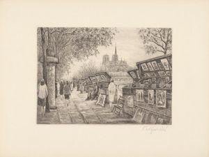 Paris, Notre Dame by Zwicker
