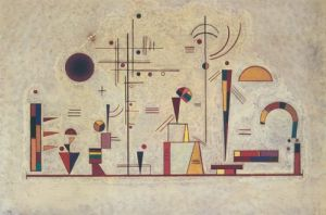 Ernst und Spaß by Wassily Kandinsky
