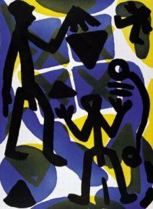 Vergleich by A.R. Penck