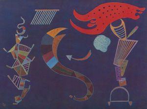 Der Pfeil by Wassily Kandinsky