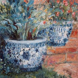 Porcelain Pots by Henrietta Milan