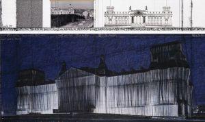 Reichstag VII by Javacheff Christo
