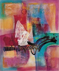 Farbsinfonie II by Ernst-Peter Rade