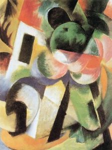 Kleine Komposition II by Franz Marc