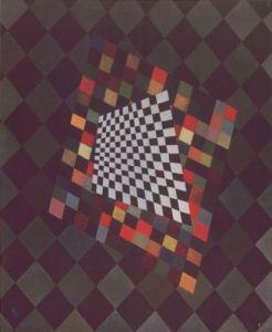 Quadrat by Wassily Kandinsky