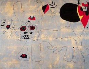 Bullfighting by Joan Miro