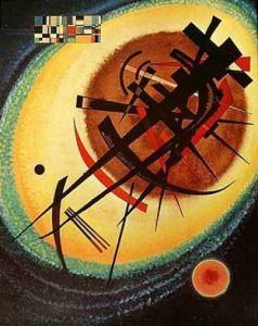 Helles Oval by Wassily Kandinsky