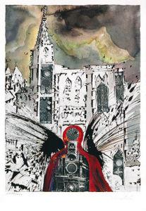 S.N.C.F. 1229 Alsace (1969) by Salvador Dali