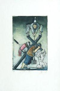 Jedem sein Kreuz by Andreas Nossmann