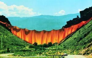 Valley Curtain (1972) by Javacheff Christo