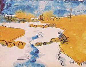 Am Priel bei Dangast (1910) by Max Pechstein