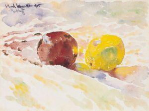 Äpfel (1905) by Karl Schmidt-Rottluff