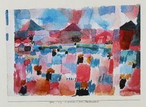 St.Germain - Tunis Landeinwärts by Paul Klee