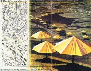 Umbrellas Yellow II (M375) by Javacheff Christo