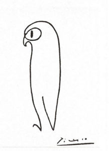 The Owl by Pablo Picasso