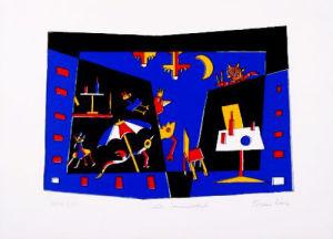 Lauer Summer Evening, 1999 by Etienne Rebel