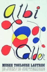 Albi Poster (1971) by Alexander Calder