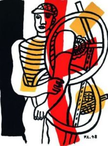 Le Cycliste (1948) by Fernand Leger