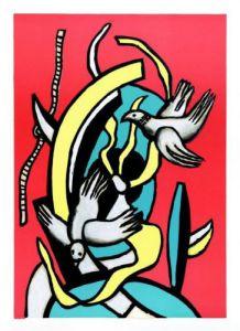 Les Oiseaux by Fernand Leger