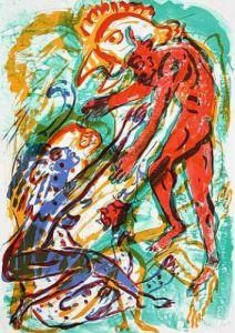 Teufel und Hexe by Eckart Roese