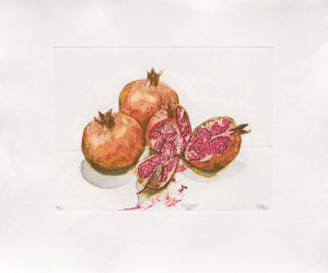 Pomegranates, 2000 by Robert C. Rore