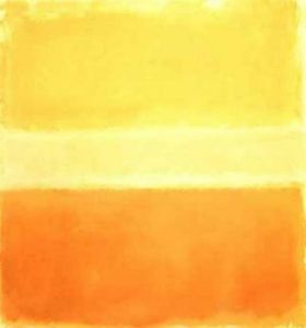 Yellow and Gold, 1956 by Mark Rothko