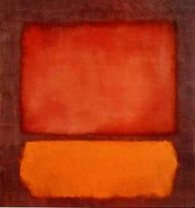 Untitled, 1962 (Red and Orange) by Mark Rothko