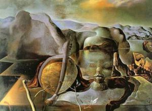 Endless Enigma by Salvador Dali