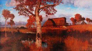 Herbst im Moor by Otto Modersohn