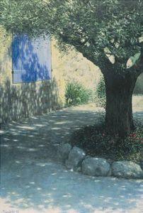 Der alte Olivenbaum by Lutz Münzfeld