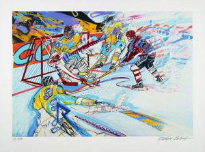 Ice Hockey by Rüdiger Eschert