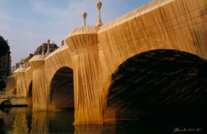 Pont Neuf Wrapped No 8 by Javacheff Christo